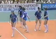 MuchoGoogle Loco_Soviet Union Women's Volleyball Team 4 times olimpic champions.