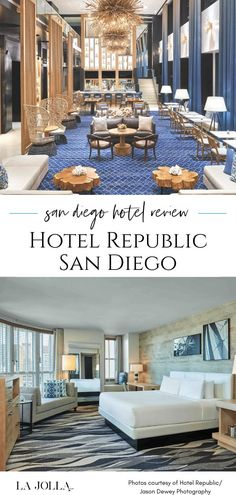 Hotel Republic San Diego is a boutique hotel that immerses guests in the local experience. We share what to know and how to book in with VIP benefits. Learn more here at La Jolla Mom La Jolla, Downtown San Diego Hotels, San Diego Zoo, Family Vacation Destinations, Four Seasons Hotel, Hotel Spa, Beach Fun, A Boutique, Vip