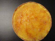 Recette de la tarte à l'orange