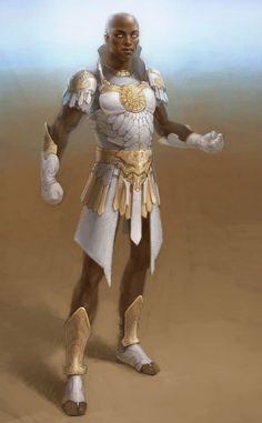 Paragon Male from Guild Wars Nightfall