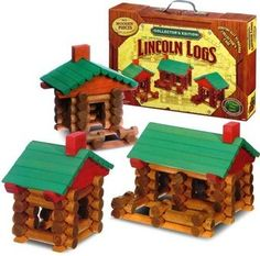 John Lloyd Wright of Illinois introduced Lincoln Logs to the marketplace in the mid-1920s.