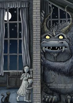 illustrating nighttime - Google Search