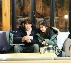 Shin joon young and no eul ❤ Uncontrollably Fond Kdrama, Kim Wo Bin, Gothic Angel, Woo Bin, Bae Suzy, Korean Drama, Actresses, Kpop, Couples