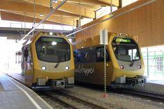Die Himmelstreppen beim Stop in Frankenfels-Laubenbachmühle Hotels, Train, Memories, Alps, Traveling, Memoirs, Remember This