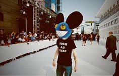 """YOUR AD HERE""- #deadmau5"