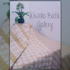 Batik Tulis Lawasan Klasik Solo ~Indonesian Batik