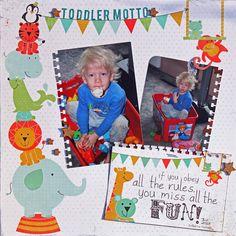 Toddler Motto - Scrapbook.com