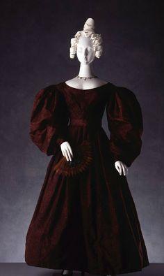 Day dress, 1830, English.