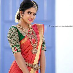 Hand Work Blouse Design, Stylish Blouse Design, Saree Blouse Patterns, Saree Blouse Designs, Saree Trends, Bridal Blouse Designs, Photography Poses Women, Beautiful Indian Actress, Beautiful Saree
