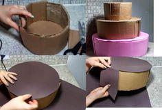 Crea tus manualidades: Pastel Falso para Cumpleaños con Foami (Goma Eva)