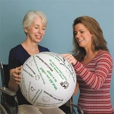 Toss 'n Talk-About; Getting Acquainted Ball Help your residents get to know each other at your next event!