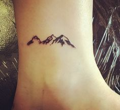 Even small tattoos are a large decision. And despite the size small tattoos can make a statement. We've put together a list of the best small tattoos with deeper symbolic meanings. Cute Tiny Tattoos, Cool Small Tattoos, Pretty Tattoos, Love Tattoos, Sexy Tattoos, Tattoos For Women, Tattoo Small, Simple Black Tattoos, Brown Tattoos