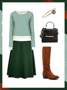 What to wear to work: das perfekte Büro-Outfit. Heute ist St. Patricks Day, der Tag, an dem der irische Schutzpatron gefeiert wird und sich die halbe Welt in grüne (irische Nationalfarbe) Klamotten schmeißt.