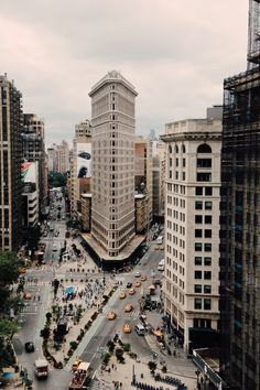 Flatiron Building - Manhattan, New York / Vereinigte Staaten von Amerika / United States of America / USA