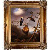 Found it at Wayfair - Black-Breasted Plovercrest Heade Framed Original Painting