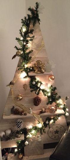 15 idées pour un sapin de Noel en bois… Original!!! Inspirez-vous… (TUTORIELS)