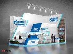 """Проект выставочного стенда """"Газпром бурение"""""""