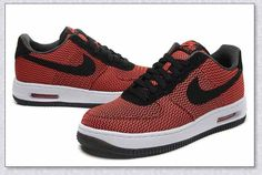 NIKE AIR FORCE1 Textile RED 725144-600 MEN SHOES