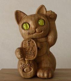Lucky Cat Statue