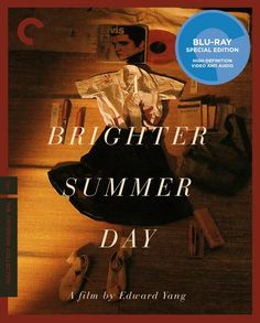 A Brighter Summer Day - Blu-Ray (Criterion Region A) Release Date: Available Now (Amazon U.S.)
