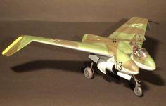 Heinkel P.1078B (He P.1078B), German interceptor