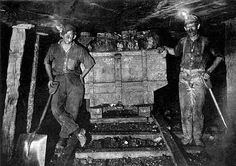 Jasonville Mines.  Victorian era coal mining in Britain.