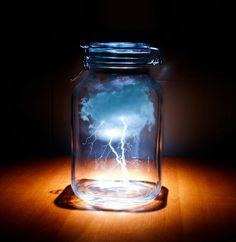 Lightening in a Bottle!