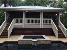 Cabana and pool Tampa Bay Florida K+B Builders Inc. Remodeling Contractors, Home Remodeling, Custom Home Builders, Custom Homes, Tampa Bay Florida, Room Additions, New Home Construction, Outdoor Living, Outdoor Decor