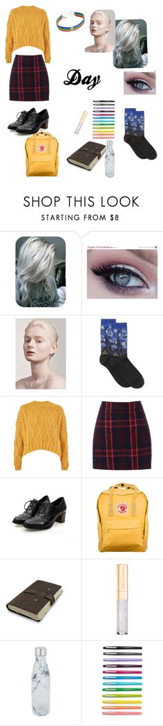 """Day"" by rain4583 ❤ liked on Polyvore featuring HOT SOX, Topshop, Oasis, Fjällräven, Dolce&Gabbana, S'well, Paper Mate and INC International Concepts"