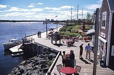 Terrace, Ritchie Wharf Park, Miramichi - New Brunswick Images / Photos Middle Island, New Brunswick, The Province, Canada Travel, Where The Heart Is, East Coast, Terrace, Road Trip, Wanderlust