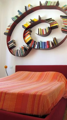 Bookworm, Kartell by Ron Arad