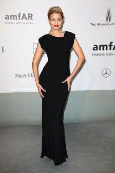 Gigi Hadid at the amfAR Cinema Against Aids 2014 Gala, 67th Cannes Film Festival - 22 May 2014