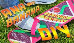 Halloween Last Minute DIY Costume | Hoverboard Tutorial | Back to the Fu...