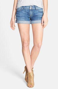 Hudson Jeans 'Croxley' Cuff Denim Shorts | Nordstrom