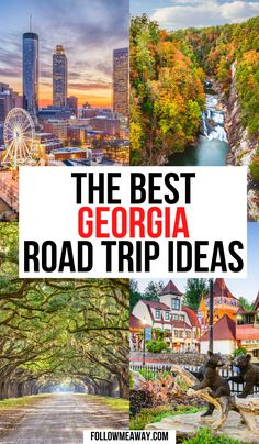 The Ultimate Georgia Road Trip Itinerary | Georgia road trip | Georgia road trip places to visit | Georgia road trip bucket lists | Georgia road trip map | Georgia roadside attractions | Georgia road trip ideas | best georgia road trip | best road trips in Georgia | visit georgia road trips | fun things to do in georgia road trips | Georgia road trips | Georgia travel road trips | Georgia weekend getaway road trips | #georgiaroadtrips #usaroadtrips
