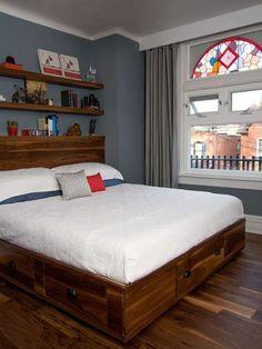 modelo cama com gavetas