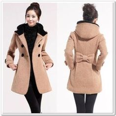 Women wool jacket warm outerwear long hooded coat winter thick clothes Double breasted trench coat 2013 wholes-in Wool Blends from Apparel Accessories on Aliexpress.com $57.99