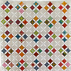 Cathedral Windows Quilt Idea
