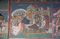 Visoki Decani monastery, c. Life Of Christ, Church Interior, Byzantine Icons, Mother In Law, Leeds, Egypt, Healing, Faith, Culture