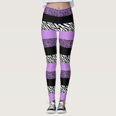 Update your wardrobe with this zebra print leggings. Get it at 25% off with code ZMLK25THANKS. Casual outfits for winter leggings street style| chic leggings outfit street style| leggings outfit summer casual converse street style #affiliatelink #printedleggings