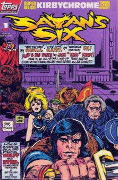 Satans Six Topps Comics / Satans Six #1 (April 1993) story and cover by Jack Kirby. Art by Todd McFarlane, inks by Frank Miller and Steve Ditko.  In March 1992, Topps Company, Inc. announced the formation of Topps Comics, to be headed by Jim Salicrup, with plans to start publishing in October 1992.