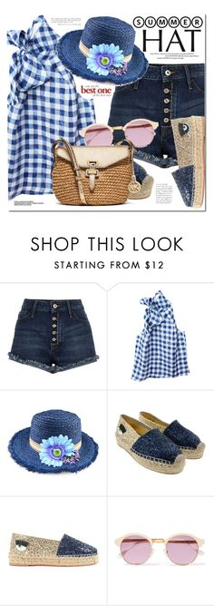 """Top It Off: Summer Hats"" by monica-dick ❤ liked on Polyvore featuring Etrala London, Chicnova Fashion, Chiara Ferragni, Sheriff&Cherry and MICHAEL Michael Kors"