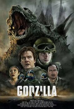An alternative movie poster for the film Godzilla, created by Mark Button, featured on AMP. Godzilla Wallpaper, Cool Monsters, Classic Monsters, Fiction Movies, Sci Fi Movies, Science Fiction, Movie Tv, King Kong Vs Godzilla, Image Film