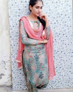 Online shopping from a great selection at Clothing & Accessories Store. Salwar Suit Neck Designs, Churidar Designs, Dress Neck Designs, Women Salwar Suit, Salwar Suits, Punjabi Suits, Kalamkari Dresses, Kurti Sleeves Design, Indian Dresses