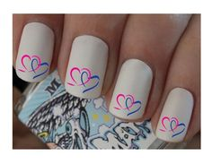 Race For Life Nail Wraps Nail Art Water Transfers Decals Clear Background x40   in Health & Beauty, Nail Care, Manicure & Pedicure, Nail Art Accessories | eBay!