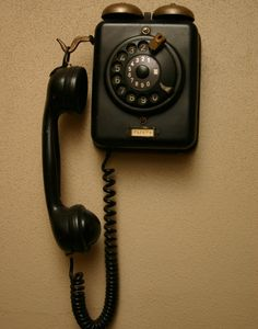 Old Phone~~My grandma had one just like this.