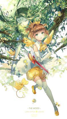 K Sakura and Wood - Cardcaptor Sakura (By Ekita)