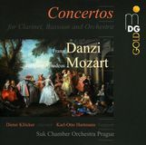Mozart, Danzi: Concertos for Clarinet, Bassoon & Orchestra [CD]