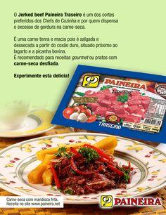 Principais utilidades da Carne-seca corte Traseiro (Jerked Beef, Charque).