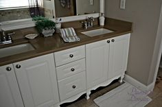 Give Standard Cabinets Furniture Style on a Budget